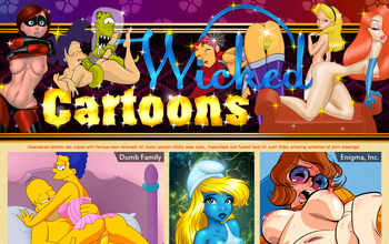 wicked porn toons